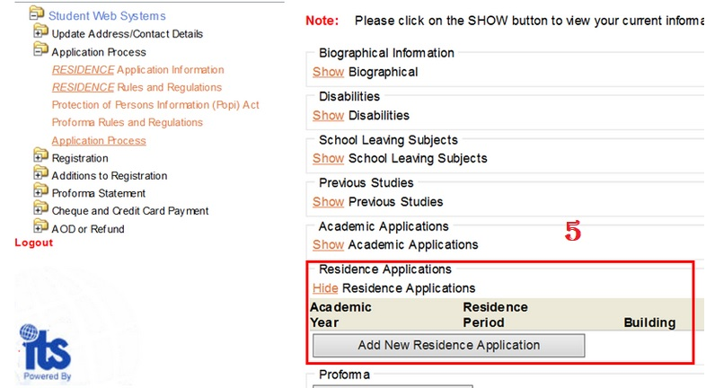 uj.ac.za Check Your Admission/NSFAS/Residence Status South ...